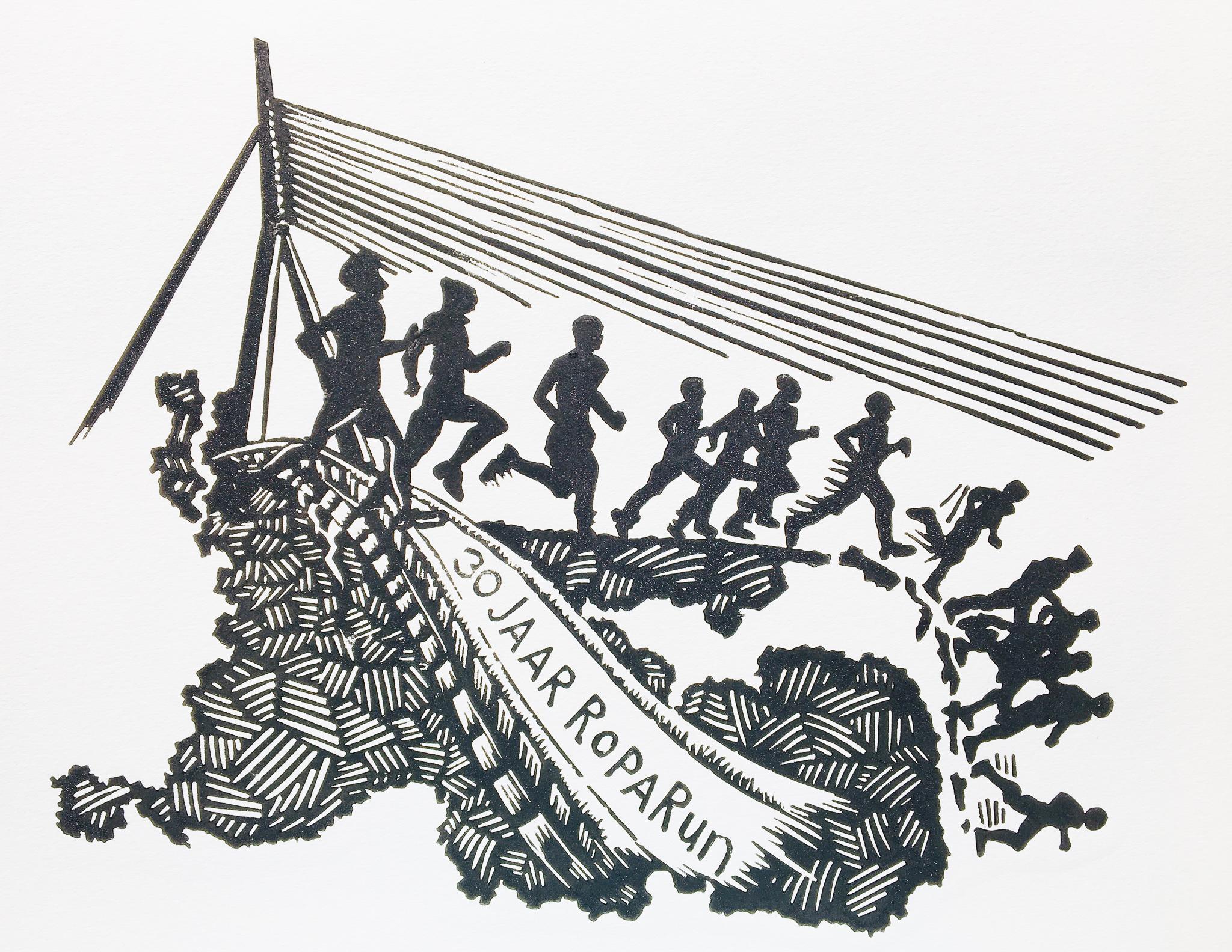 Linoleumsnede europarun